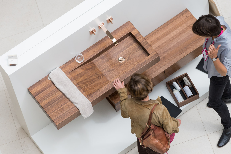 Waschbecken aus Holz Washbasin