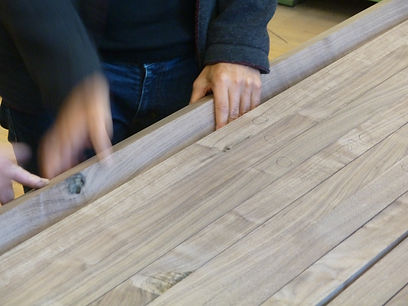 Our premises are a traditional carpenter's workshop or Tischlerei