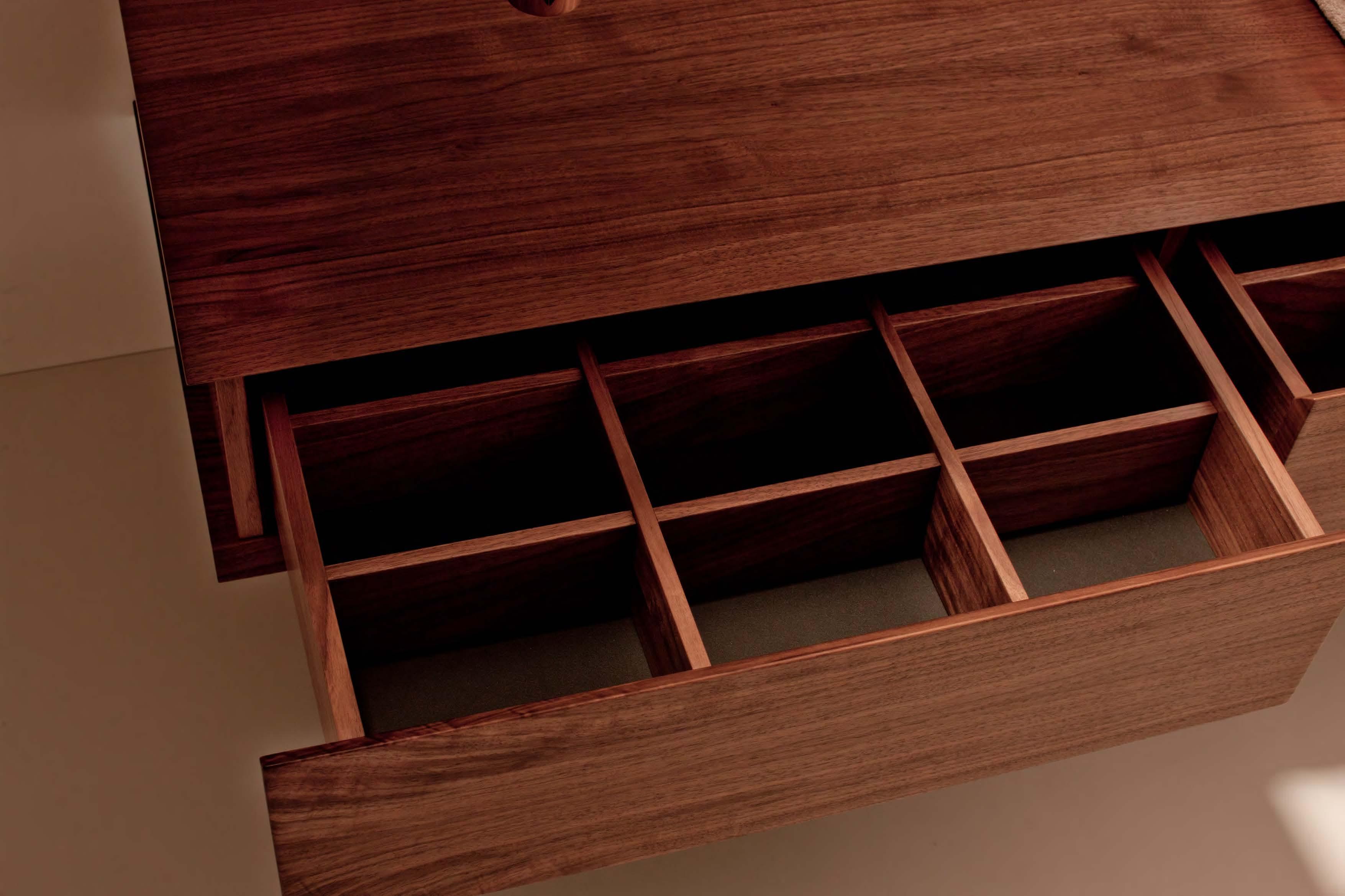 Detail: drawers