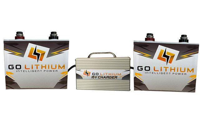 16v Battery and Charger Package *Includes Two Gen 2 Batteries and One Charger*