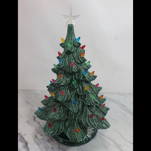 Vintage Christmas Tree Small
