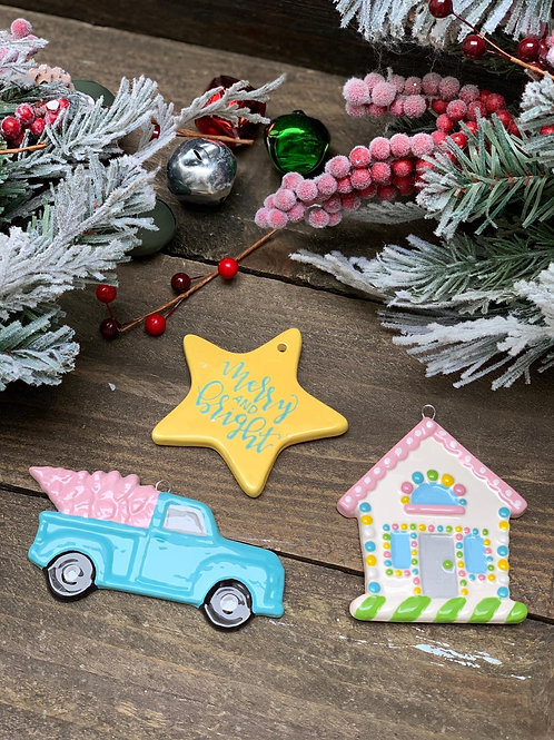 Paint at Home Ornament Kit (4)