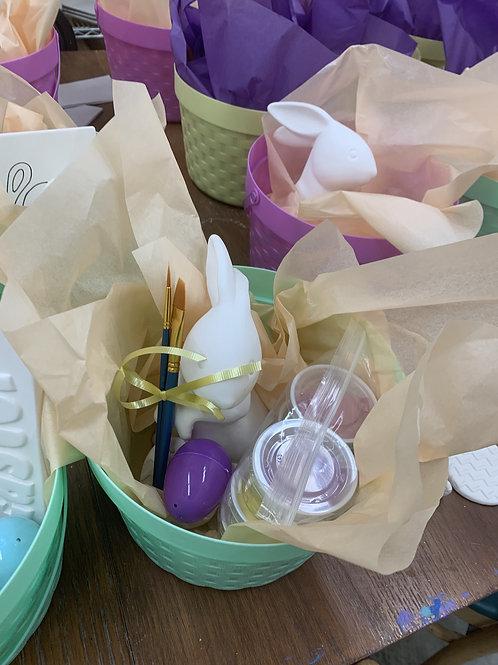 Pottery Easter Basket