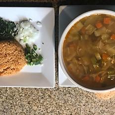 Sopa De Pollo(Chicken Soup)