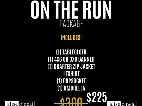 On the Run Branding Package