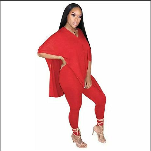 Erica Set -Red