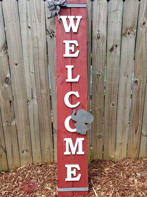 6ft 3D Welcome Sign