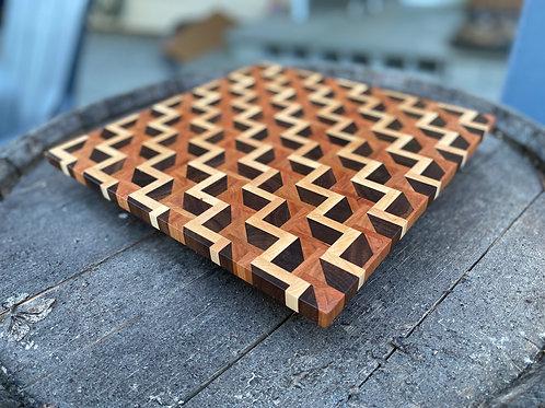 ZigZag Cutting Board - Special Order