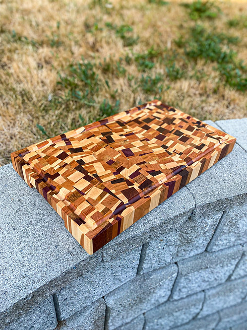 Chaotic Cutting Board - Special Order