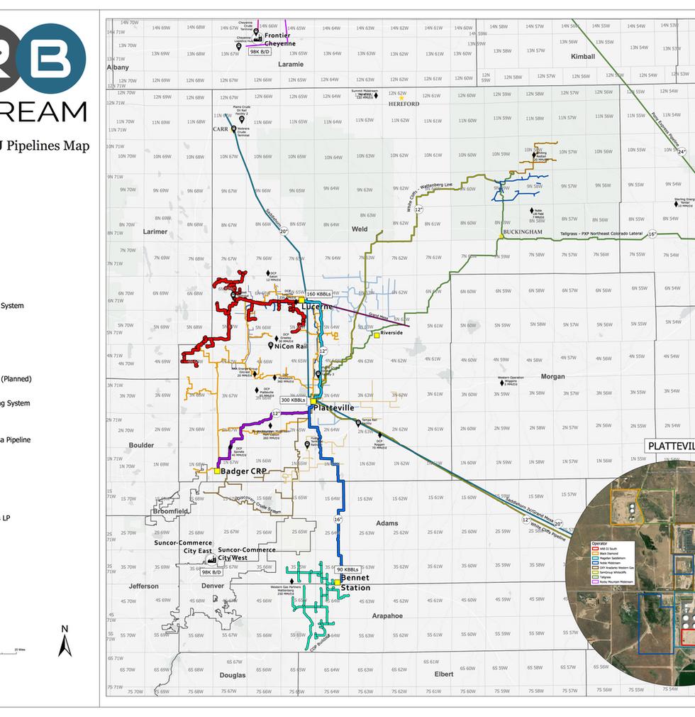 Comprehensive DJ Pipelines Map