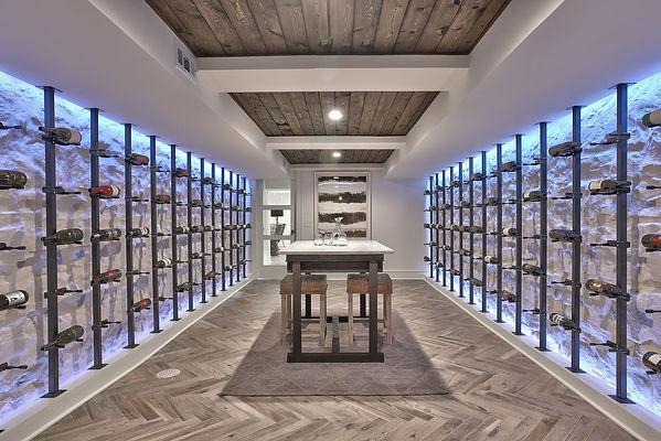 Wine cellar in Leawood