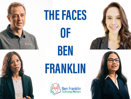The Faces of Ben Franklin: Central Pa. Represents a Land of Opportunity for Entrepreneurs,Innovators