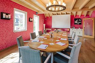 Tagungstisch im Backhaus