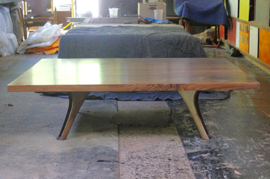 east coast walnut coffee table