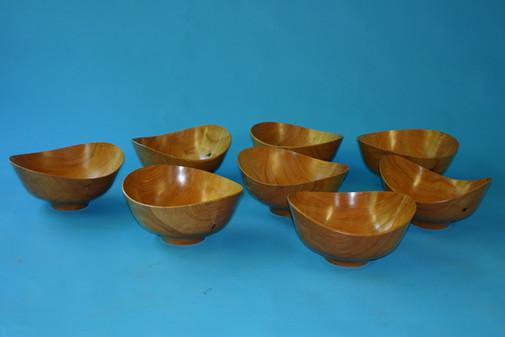 """cypress Finn Julh designed bowls 14"""" by 7 1/2"""" high"""