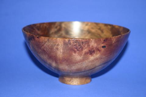thin walnut bowl
