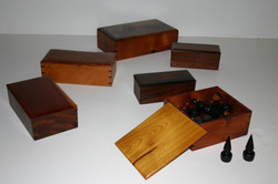 assorted boxes
