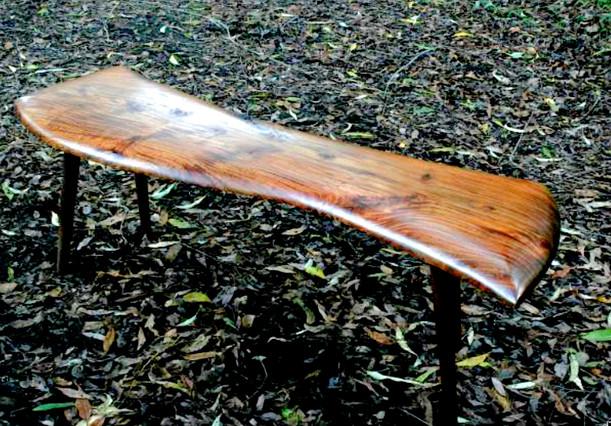 black acacia bench/table