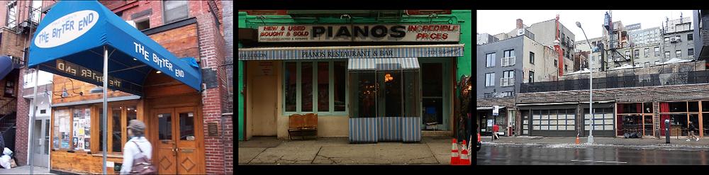 Bitter End/Pianos/Rockwood