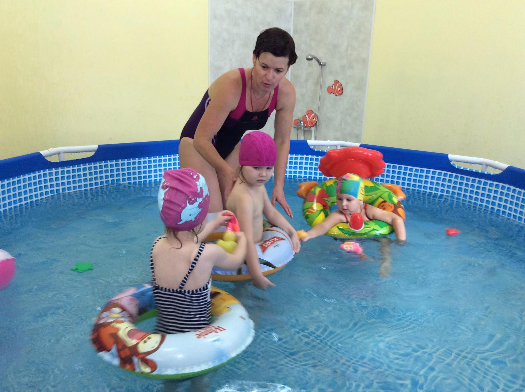 Катрина Марина Ивановна инструктор по плаванию