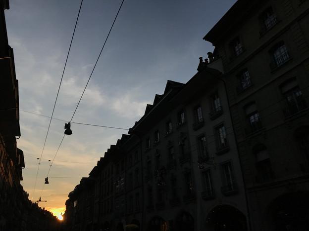 Frühlingsbeginn in Bern