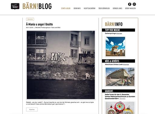 Baernblog