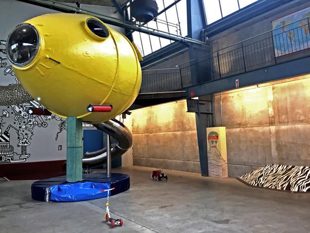 Das U-Boot vom Zentweg