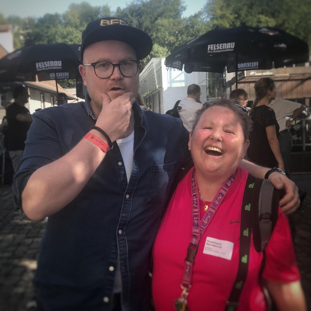 Sven Gubler und Rosmarie Bernasconi