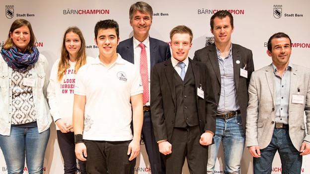 Die Sportlerinnen und Sportler von Bern