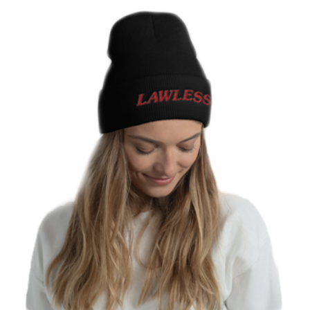 The LAWLESS Custom Embroidered Skully Cap