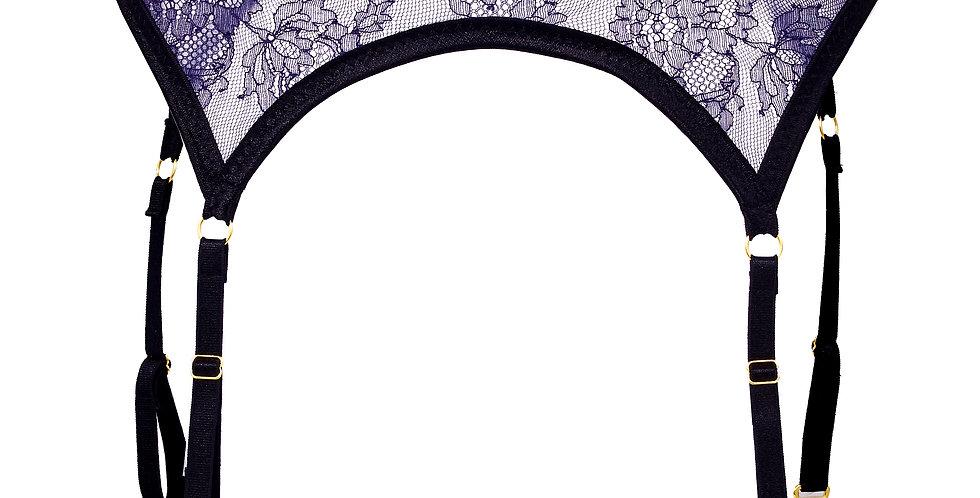 "Stocking belt ""Purple"""