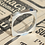 Thumbnail: Modern Square Sterling Ring With Round Cut Sapphire