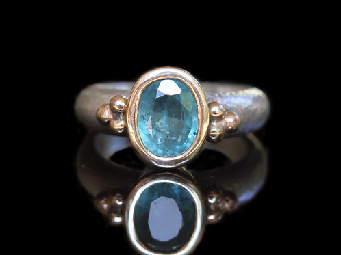 Unique Modern Alternative Engagement Ring ~ 1.50ct Muzo Columbian Emerald