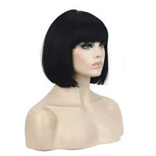 !00% Human Hair all Black Front Lace