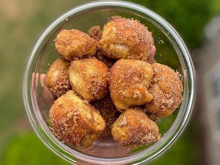 Cinnamon Pretzel Bites