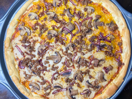Best Vegan Pizza Dough EVER!
