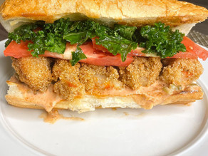 Vegan Shrimp Po'boys