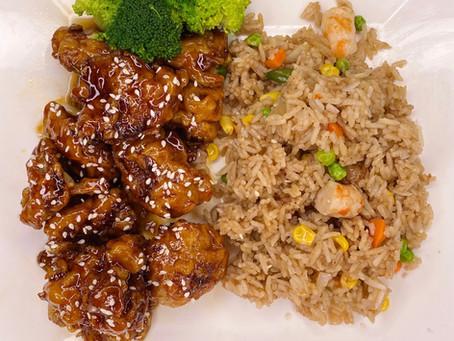 Vegan General Tso's Chicken