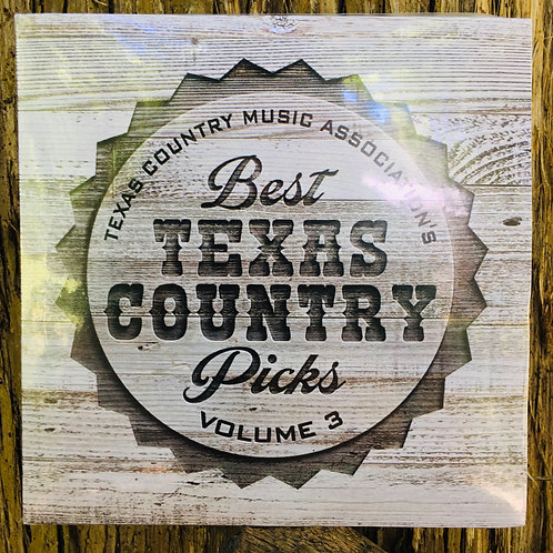 "Texas Country Music Association's ""Best Texas Country Picks"" compilation album"