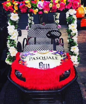 Pasquale Rotella Golf Cart