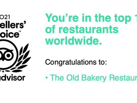 Travellers choice award and still #1!