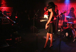 Mia Karter Black Winehouse Dress