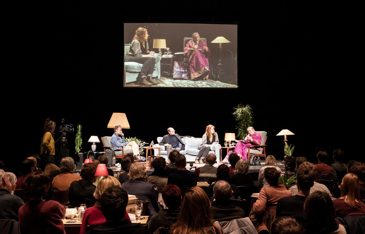 TV DINNER with Johan Grimonprez, Olivier de Schutter & Vandana Shiva