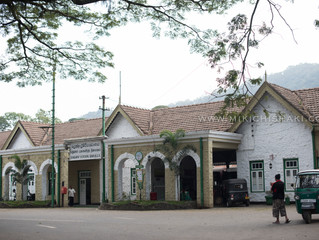 Train trip from Badulla to Galle