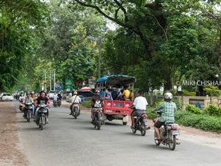 Arriving at Myitkyina