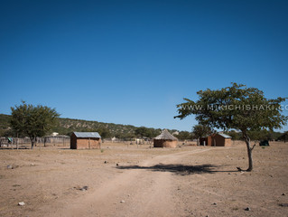 Herero tribe village