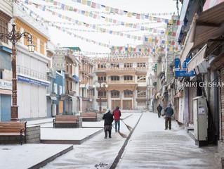 Morning-walk in Leh-1