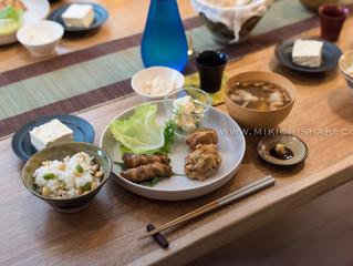 Tofu recipe @ Cooking class