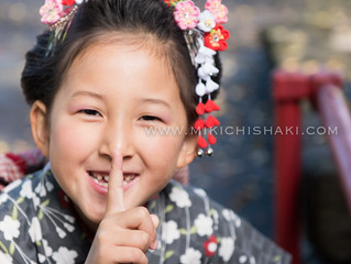 Seven-year-old girl ceremony〜七五三