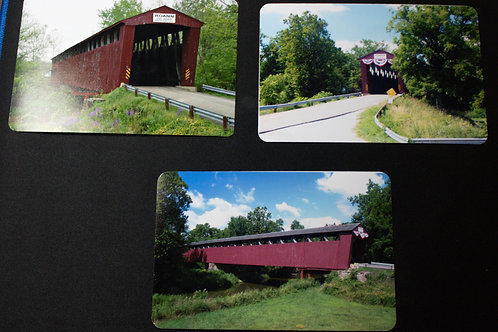 Postcards of Roann Covered Bridge